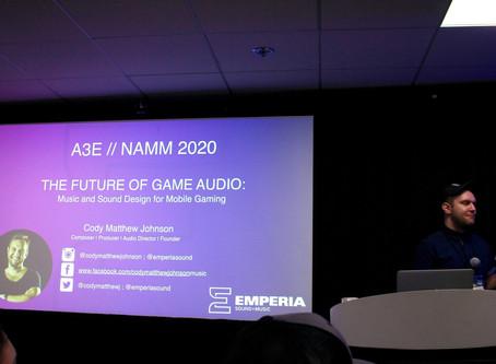 NAMM & A3E 2020