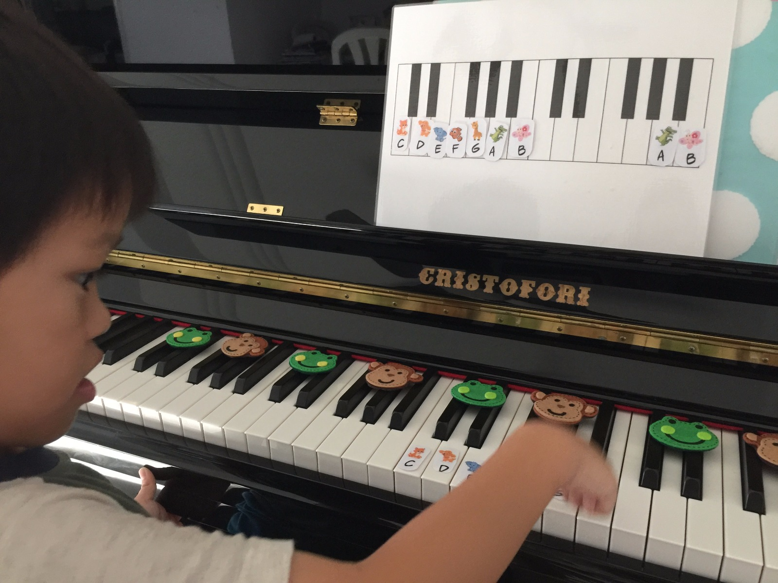 So Fun to Learn Music Letters!