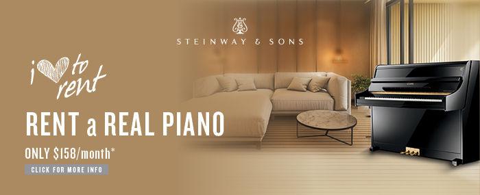 Steinway piano rental