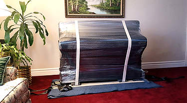 piano moving and wrapping