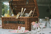 Jam and Tea Rustic Wedding Hampers