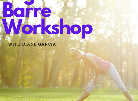 Beginner Barre with Diane Garcia!