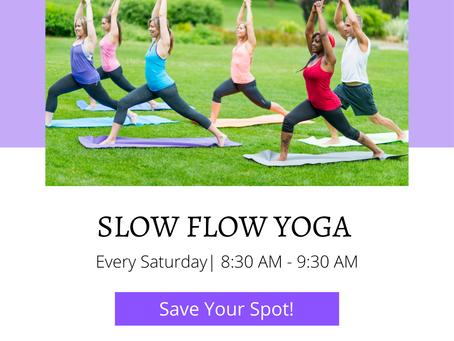 Slow Flow Saturdays