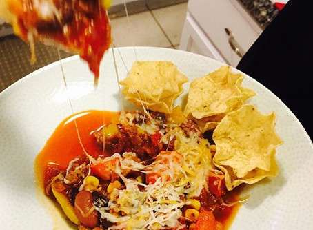 """On a Cold Winter's Night"" Vegetarian Chili"