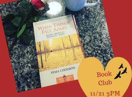 Book Club: When Things Fall Apart
