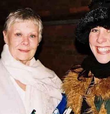 Me and Judi Dench in Stratford...jpg