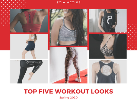 TOP 5 WORKOUT LOOKS FROM ZYIA ACTIVE