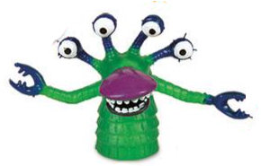 Green Peg Monster