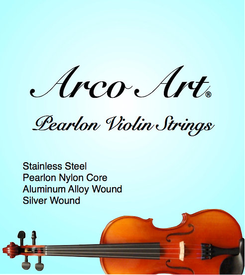 Pearlon Violin Strings