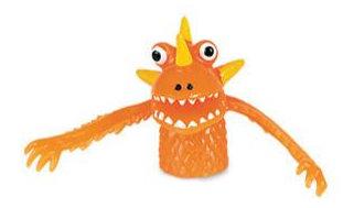 Orange Peg Monster
