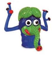 Blue Peg Monster