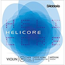 Helicore Violin Strings, set