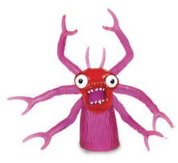 Purple Peg Monster