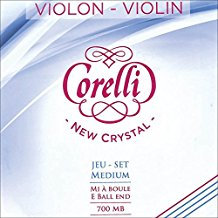 Crystal Violin Strings by Corelli