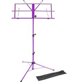 Purple Music Stand