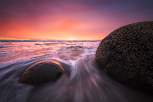 Moeraki Boulders. New Zealand. Colm Keating Photography