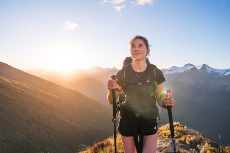 Brewster hut hike. Wanaka New Zealand. Colm Keating