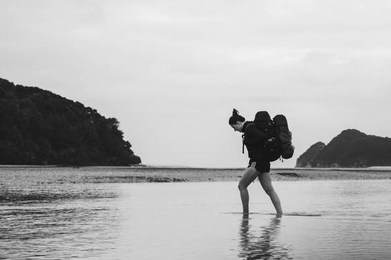 Hiking the Abel Tasman. Colm Keating