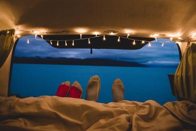 Van life camping at Lake Pukaki New Zealand. Colm Keating