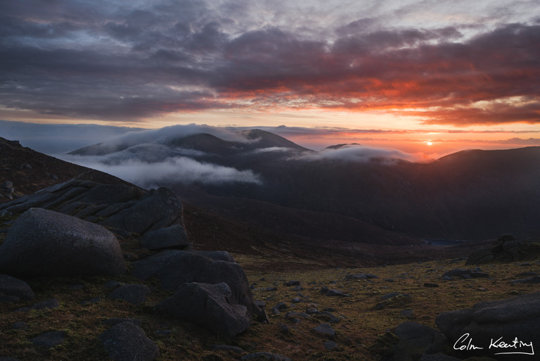 Mourne Mountains. Northern Ireland. Colm Keating Photography.