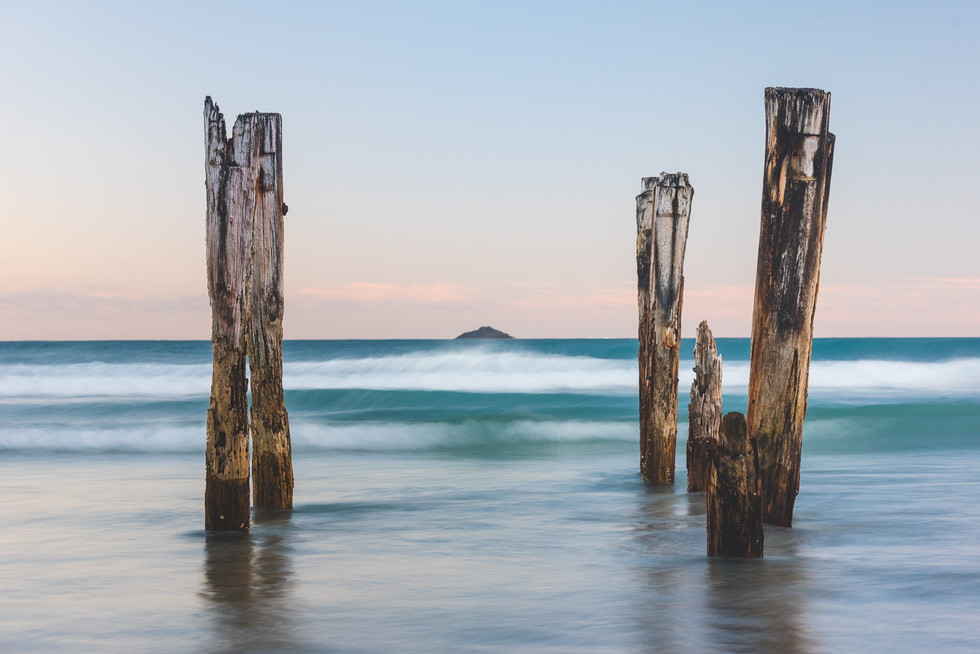 St. Clair Beach. Dunedin. New Zealand. Colm Keating Photography.