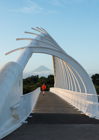 Bridge near New Plymouth. New Zealand. Colm Keating Photography.