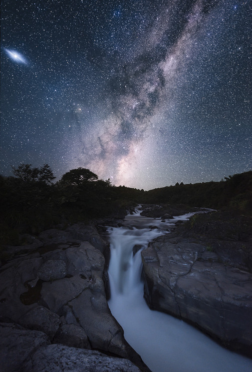 Milky Way. Astrophotography. New Zealand. Colm Keating Photography.
