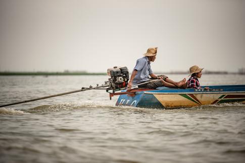 Tonle Sap Lake, Cambodia. Colm Keating Photography.