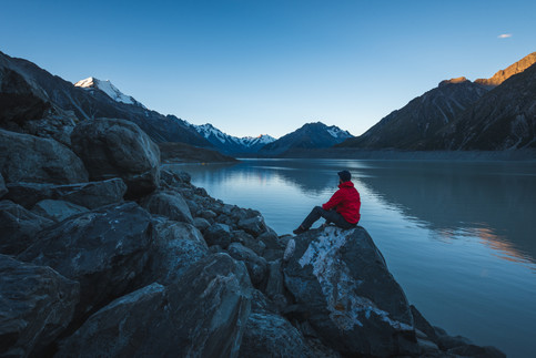 Tasmang Glacier Lake. Mount Cook National Park. New Zealand. Colm Keating Photography.