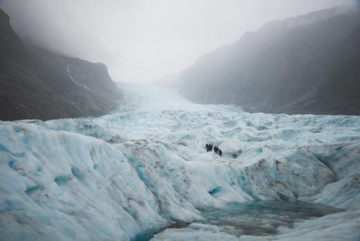 Fox Glacier hike. Heli Hike. Colm Keating