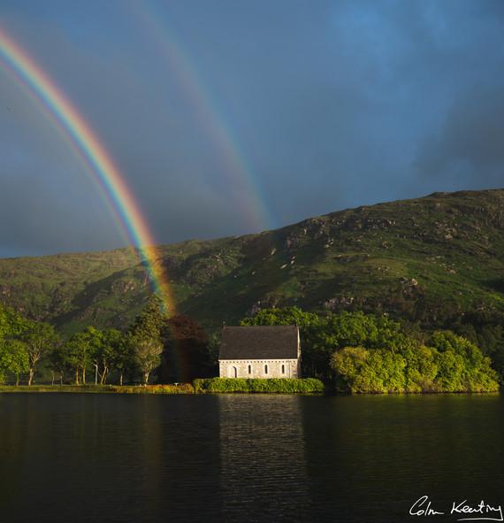 Gougane Bearra. St. Finbarr's Oratory. Cork. Ireland. Colm Keating Photography.