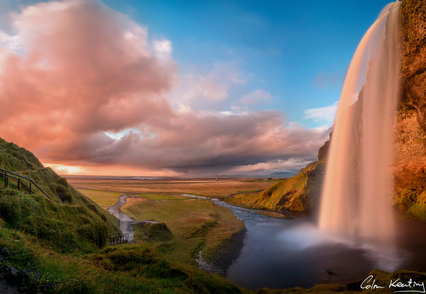 seljalandsfoss, Iceland. Colm Keating Photography.