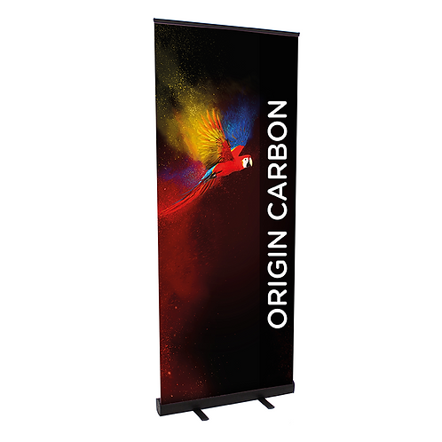 Origin Carbon Pull Up Banner - 800mm