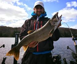 Guide de pêche Lac Memphrémagog / La