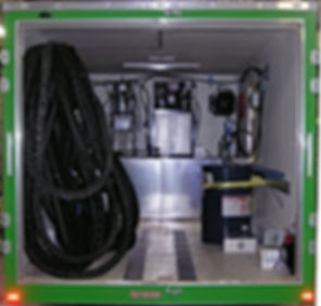 One hose spray foam rig