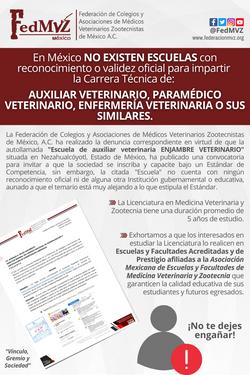 COMUNICADO FedMVZ ESCUELA ENJAMBRE (1)