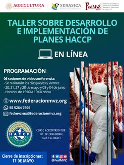 CURSO EN LÍNEA HACCP 2021
