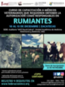 CURSO MVRA RUMIANTES ZACATECAS 10 AL 13