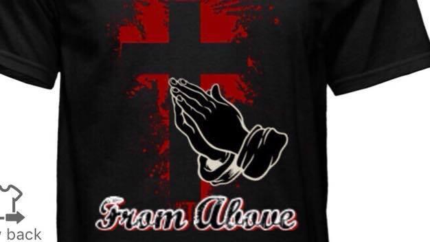 Manna From Above Prayer T-shirt