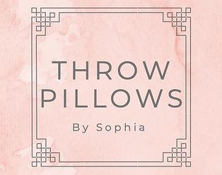Throw Pillows By Sophia