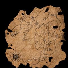 Ancient Map Prop