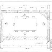 Groundplan - Russian Neo Gothic Dining Room