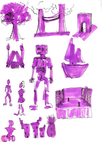 Sketches Page 10