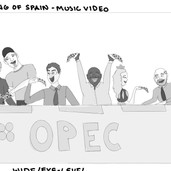 King of Spain Animatic - Music Video