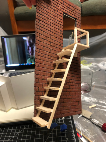 Progress Image of Staircase