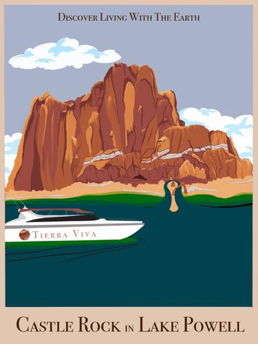 Tierra Viva Travel Poster