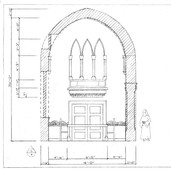 Wall C - Russian Neo Gothic Dining Room