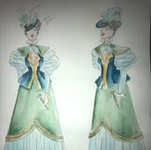 Lady Bracknell Costume Design