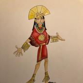Kuzco Costume Rendering