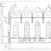 Wall D - Russian Neo Gothic Dining Room